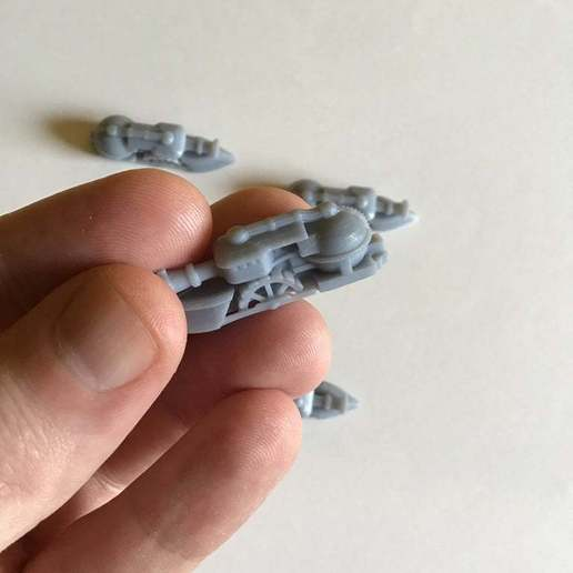 Download free 3D printing templates Ratty Gunboat, barnEbiss2