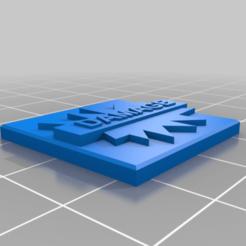 Download free 3D printing designs Blast Marker Game Token, barnEbiss2