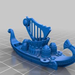 Musicoftheseaship.png Download free STL file God of Joy Sea Shanty music ship • 3D printer design, barnEbiss2