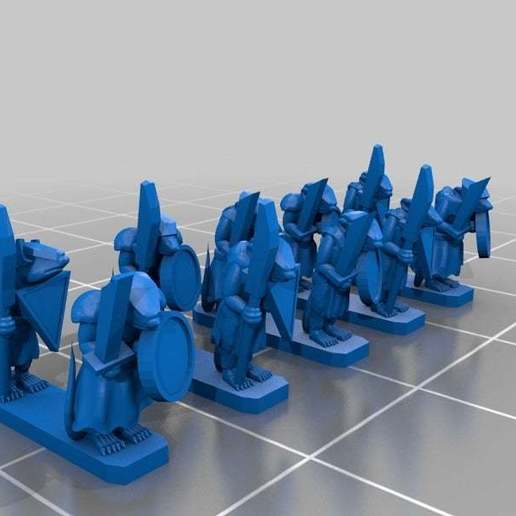 998e0e743e5627b7e9c57610327873cb_display_large.jpg Download free STL file Ratty Chittering soldier ratties 12mm Proxy clan rats • Template to 3D print, barnEbiss2