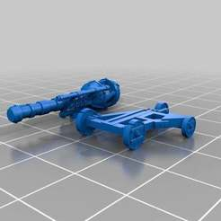 Download free STL files Ratty Zap Zap Cannon two parts version, barnEbiss2
