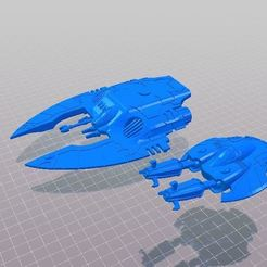 Download free STL files Space Elf Tank Spider Caster For Resin Print, barnEbiss2