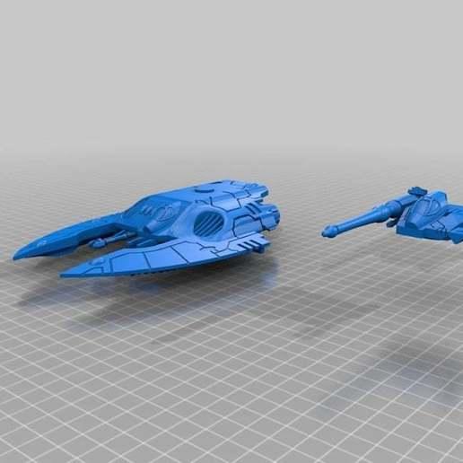 82f8d30b8e8d4c57aa11c902d573d7ee_display_large.jpg Download free STL file Space Elf Tank For Resin Print • 3D printing model, barnEbiss2