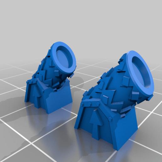 LordGonamCommandShipDeckGuns.png Télécharger fichier STL gratuit GONAM Lord GONAM Command Command Ship proxy • Plan pour imprimante 3D, barnEbiss2