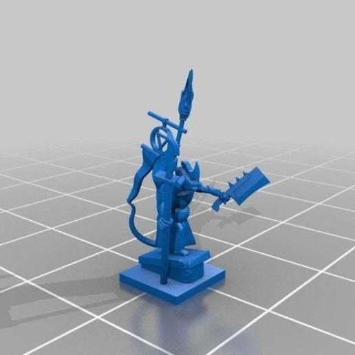 Download free 3D printer designs Ratty Kill Kill General Special Edition, barnEbiss2