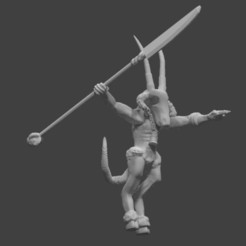 Download free 3D printing files Ratty Master demon good for 10mm, barnEbiss2