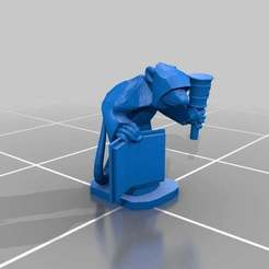 Download free 3D printing templates Ratty Monk Faith Squeeker, barnEbiss2