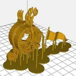 e3c2b70e75b86971b768623934a8fe2d_display_large.jpg Télécharger fichier STL gratuit Ratty Go Faster Wheel mis à jour maintenant avec des pierres bling bling bling et des ajustements • Modèle pour impression 3D, barnEbiss2