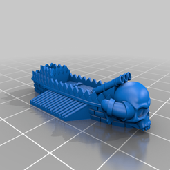 Download free STL file GONAM FireSkull Ship • 3D printer template, barnEbiss2