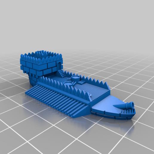LordGonamCommandShipPart.png Télécharger fichier STL gratuit GONAM Lord GONAM Command Command Ship proxy • Plan pour imprimante 3D, barnEbiss2
