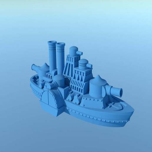 large_display_IronCladFinished3.jpg Download free STL file Updated! Shorty Iron Wave • 3D print model, barnEbiss2