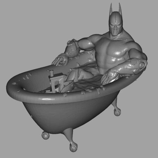 _20200508_211144.JPG Télécharger fichier STL gratuit Bathman • Plan à imprimer en 3D, poju73