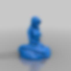 Télécharger fichier STL gratuit Une sirène de plus • Modèle pour imprimante 3D, poju73