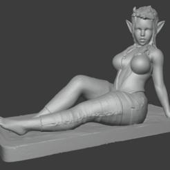 Télécharger fichier STL Elfgirl • Design pour imprimante 3D, poju73