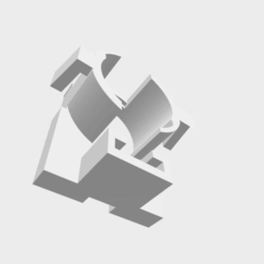 Télécharger fichier impression 3D gratuit support pour ampoule de feux de Remorque ( aspoch ), daminou10