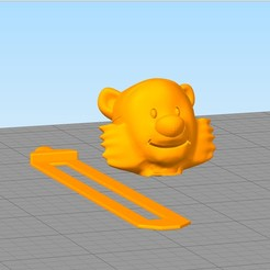 separador2.jpg Download STL file Hobbes bookmark • 3D printer model, gothamstorecol