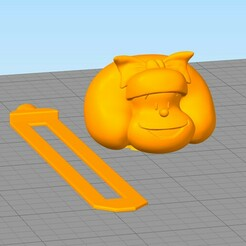 separador26.jpg Download STL file Mafalda Book Separator • 3D printing model, gothamstorecol
