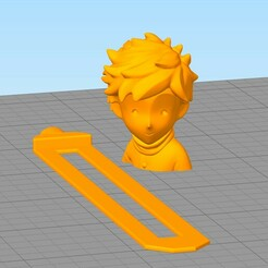 separador22.jpg Download STL file Book Separator Little Prince • 3D printing design, gothamstorecol