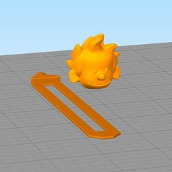 separador9.jpg Download STL file Calvin Bookmark • Object to 3D print, gothamstorecol