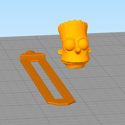 separador7.jpg Download STL file Bart's bookmark • 3D printable template, gothamstorecol