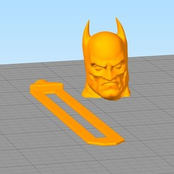 separador8.jpg Download STL file Batman bookmark • 3D printer model, gothamstorecol
