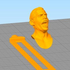 separador15.jpg Download STL file Queen bookmark, Freddie Mercury • 3D printable object, gothamstorecol
