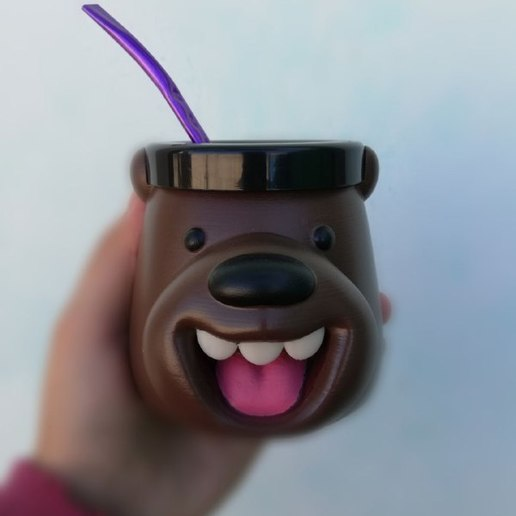 Download STL file Mate Brown Outrageous Bear, rubensony28