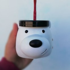 Télécharger plan imprimante 3D Mate Scandalous Polar Bear, rubensony28