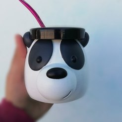 Download 3D print files Mate Scandalous Bear Panda, rubensony28