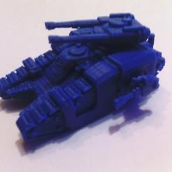 Photo_bleu.jpg Download free STL file Tank 5 petits échelle • 3D printing object, ologhzul