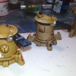 Descargar modelo 3D gratis tourelle de défense communiste petite échelle, ologhzul