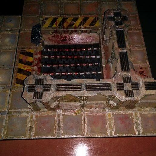 Télécharger fichier STL gratuit Zone de combat • Plan à imprimer en 3D, ologhzul
