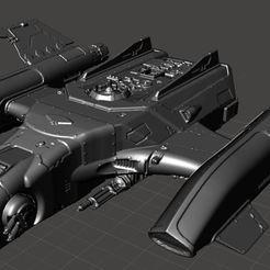 Imprimir en 3D gratis Transporte de lingotes volantes dorés petite échelle, ologhzul