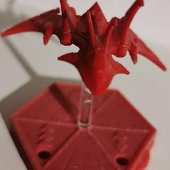 Télécharger plan imprimante 3D gatuit socle pour jouer avec des avions, ologhzul