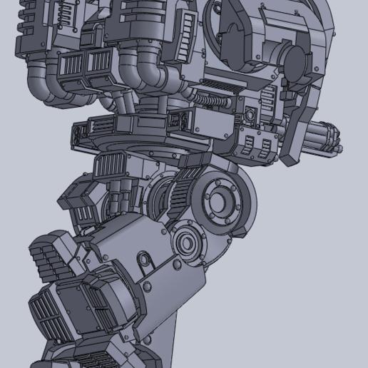 dread_2.png Download free STL file Gros robot des anciens marin de l'espace • Template to 3D print, ologhzul