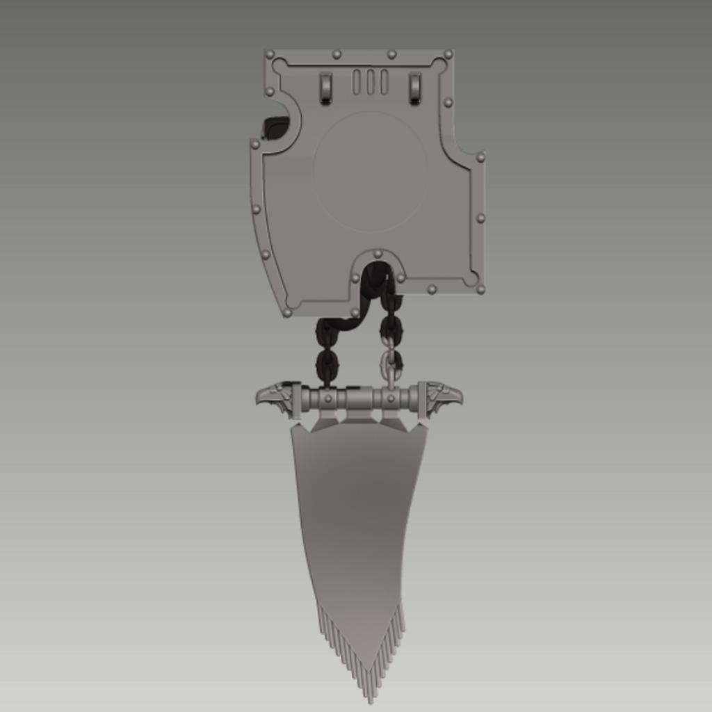 large_display_FLAG_3.png Download free STL file FLAG - MEGA PACK FOR IMPERIAL GUNS • 3D printer template, yaemhay