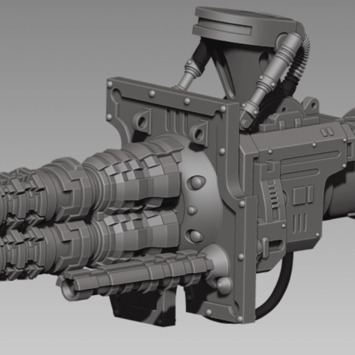 Screenshot_6.png Download free STL file IMPERIAL RAPID CANNON - ULTRA MEGA PACK ! • 3D printer template, yaemhay