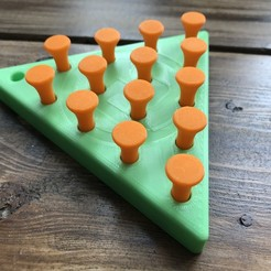 IMG_2048.JPG Download free STL file Cracker Barrel Board Game • 3D printer model, josiahocf