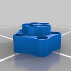 Oil_Holder.png Download free STL file Essential Oil Holder - qty 10 • 3D printer design, josiahocf
