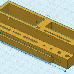Télécharger modèle 3D gratuit Ender 3 Porte-outils avec plateau, josiahocf