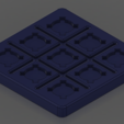 Download free 3D printing templates TicTacToe, josiahocf