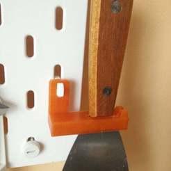 61442762_306707930258492_3278265051462500352_n.jpg Télécharger fichier STL gratuit Porte-spatule Ikea skadis • Objet imprimable en 3D, sebaw65