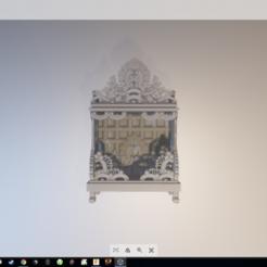 Descargar diseños 3D gratis silla de los dioses, zedeye101