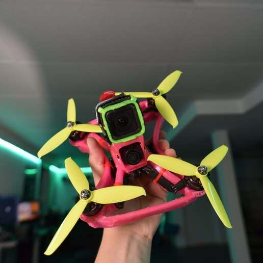 DSC_6781.JPG Télécharger fichier STL gratuit Cadre de drone TPU FPV - Indestructible • Modèle à imprimer en 3D, gvaskovsky