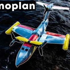 Thumbnail_3.4.jpg Download STL file 3D printed RC Ekranoplan • 3D printing object, gvaskovsky