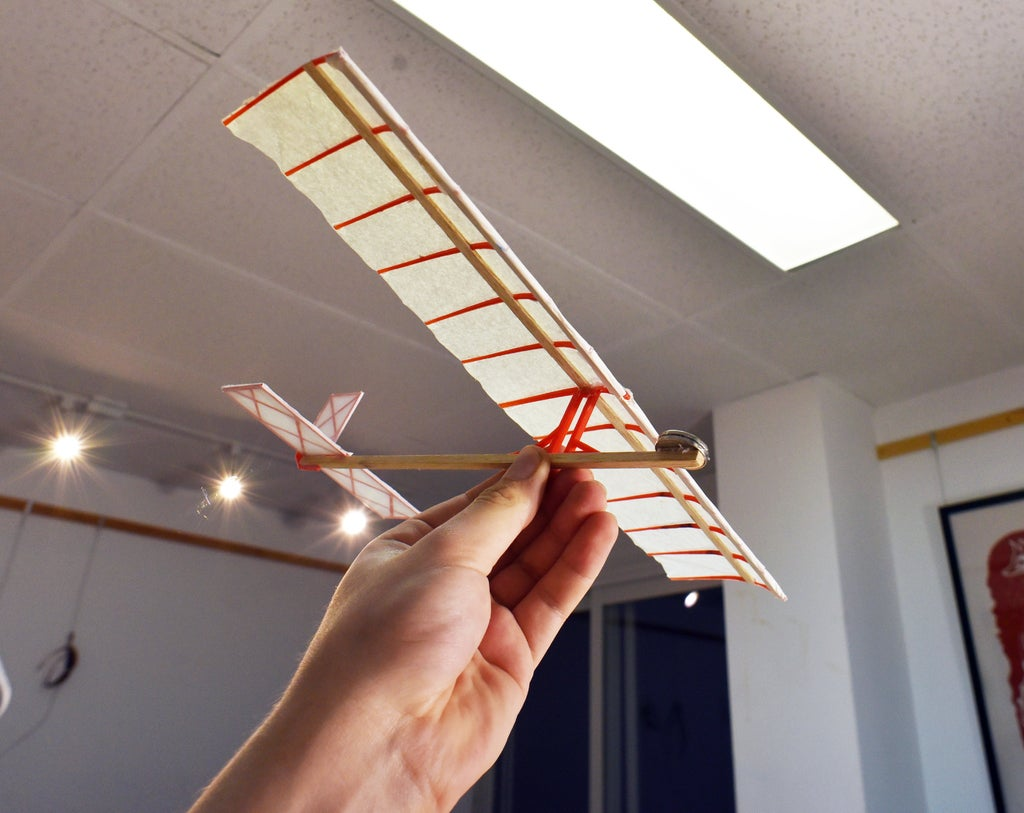 c878b32c555d6df76ae8118cf1cb8026_display_large.jpg Download STL file 3D Printed Hand Launch Glider • Template to 3D print, gvaskovsky