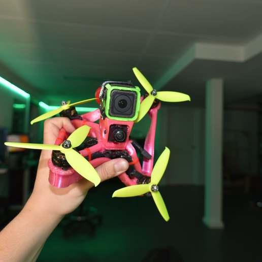DSC_6776.JPG Télécharger fichier STL gratuit Cadre de drone TPU FPV - Indestructible • Modèle à imprimer en 3D, gvaskovsky