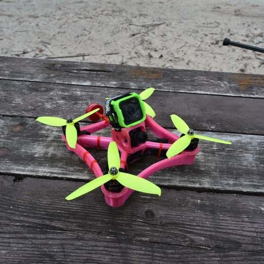 Télécharger fichier STL gratuit Cadre de drone TPU FPV - Indestructible • Modèle à imprimer en 3D, gvaskovsky