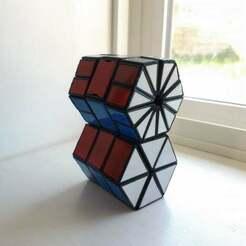 720X720-20200525-150957-1.jpg Download free STL file Hexagonal prism plus twisty puzzle • 3D printable design, ethanbuell800