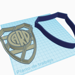Download 3D printing designs Cutter River - Cutter River Plate, SNV3D